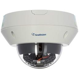 Geovision GV-EVD2100 2MP H.264 Super Low Lux WDR IR Vandal Proof IP Dome (White)