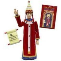 Accoutrements Pope Innocent III Action Figure