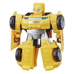 """Transformers Playskool Heroes Rescue Bots Academy Bumblebee Converting Toy Robot, 4.5"""" Action Figure, Toys for Kids Ages 3 & Up"""