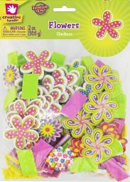 Creative Hands Whimiscal Flower Stickers