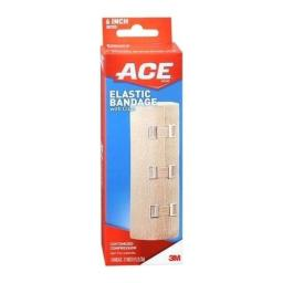ACE Elastic Bandage with Clips 6 Inch 1 EA - Buy Packs and SAVE (Pack of 2)