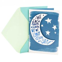 Hallmark Graduation Card (Moon and Stars, You've Only Begun to Shine)