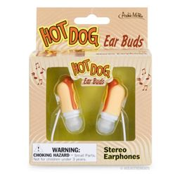 Accoutrements Hot Dog Ear Buds