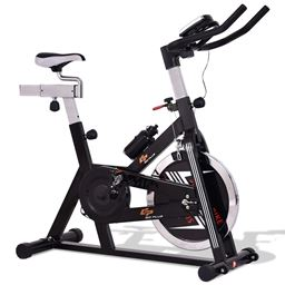 Adjustable Exercise Bike with LCD Display
