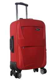 Brio Luggage Softside Carry On Expandable Spinner #6021 - Red