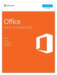 Microsoft Office Home and Student 2016 Key Card for 1 User