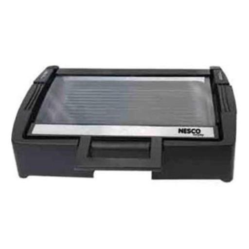 Nesco 4T0840 17 x 14 in. Premium Non-Stick Interior Grill with Glass Lid