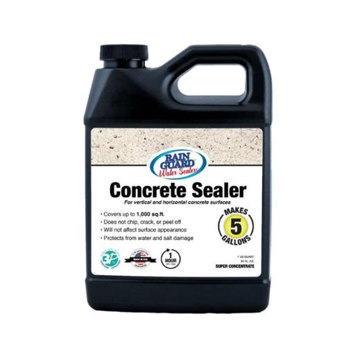 Rainguard International 230212 32 oz Premium Grade Concrete Sealer, Clear