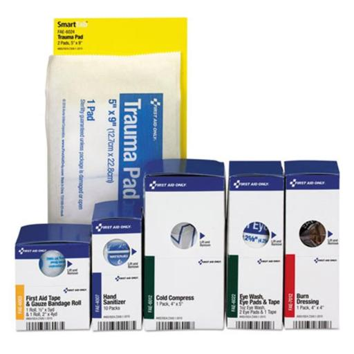 First Aid Only 90690 Smart Compliance ANSI Upgrade Refill Pack, 19 Piece