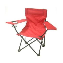 Redmon 9006 RD Folding Camp Chair with Matching Bag- Red