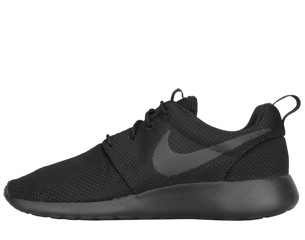 22d2504d70e5 Nike Nike Roshe One Black Black Men s Running Shoes 511881-026 ...
