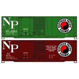 Accurail ACU1231 HO NP 40 ft. Steel Box, 2P