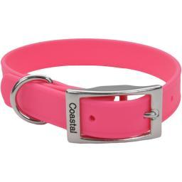 "Coastal 17"" Waterproof Dog Collar-Pink"