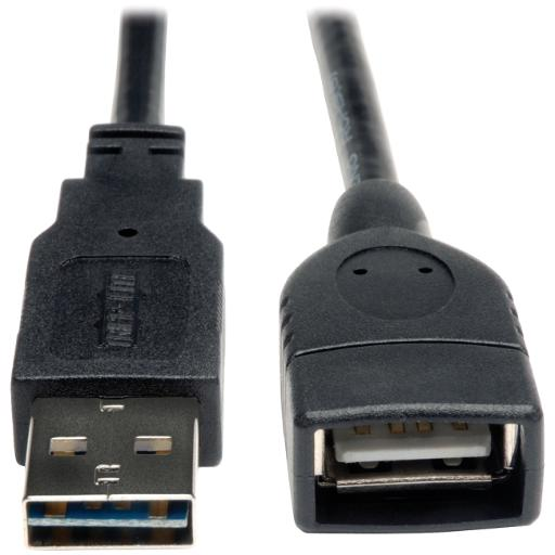 Tripp lite ur024-010 universal reversible usb 2.0 hi-speed extension cable (reversible a to a m/f), 1