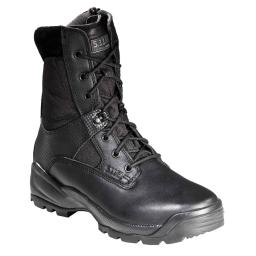 "5.11 Tactical ATAC 8"" Side Zip Boot, Law Enforcement, Military, Black"