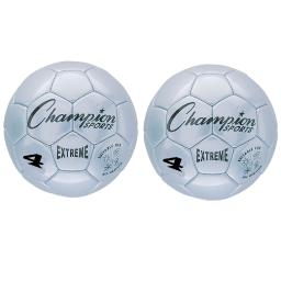 Champion sports 2 ea soccer ball size4 composite ex4slbn