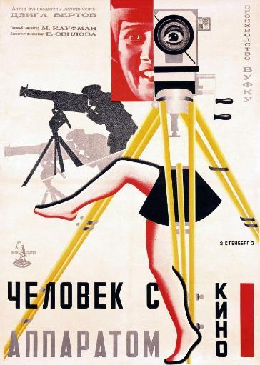 The Man With A Movie Camera Poster By The Stenberg Brothers 1929 Movie Poster Masterprint RLFAVIG7JTAOWV2N