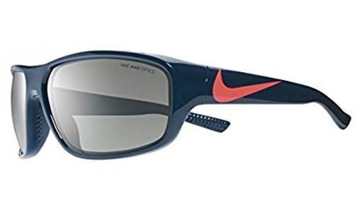 Nike Golf Mercurial EVO887-483 Kid's Sunglasses Blue/Hot Lava Frame