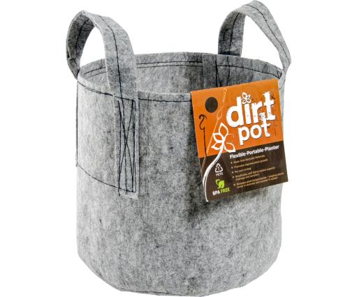 Hydrofarm Dirt Pot HGDB15 Dirt Bag Reusable Planting Pot, 15-Gallon