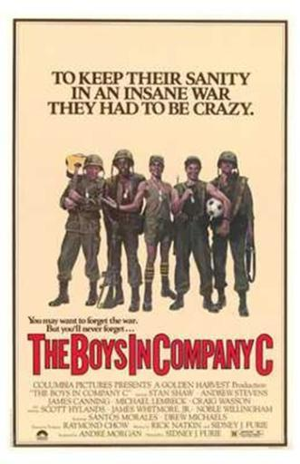 The Boys in Company C Movie Poster (11 x 17) ZUM7WZR9WDWFGYDO