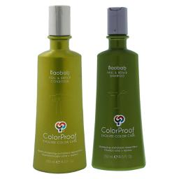 Baobab Heal And Repair Shampoo And Conditioner Kit By Colorproof For Unisex - 2 Pc Kit 8.5Oz Shampoo, 8.5Oz Conditioner