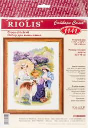 "The Russian Country Estate Counted Cross Stitch Kit-11.75""X15.75"" 14 Count R1141"