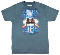 Back to the Future Men's Take Me Back to 1985 T-Shirt