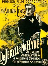 Dr.Jekyll & Mr. Hyde Sheldon Lewis 1920 Movie Poster Masterprint EVCMCDDRJEEC005HLARGE