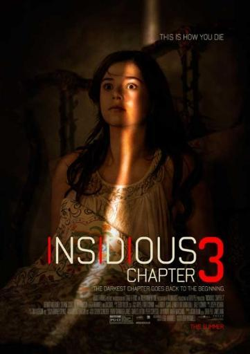 Insidious Chapter 3 Movie Poster Print (27 x 40) EWJYS2ZXLFBE3KC5