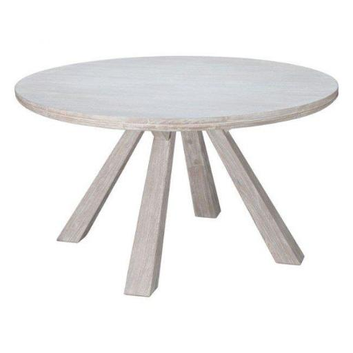 Zuo Modern 100743 Beaumont Round Dining Table, Sun Drenched Acacia