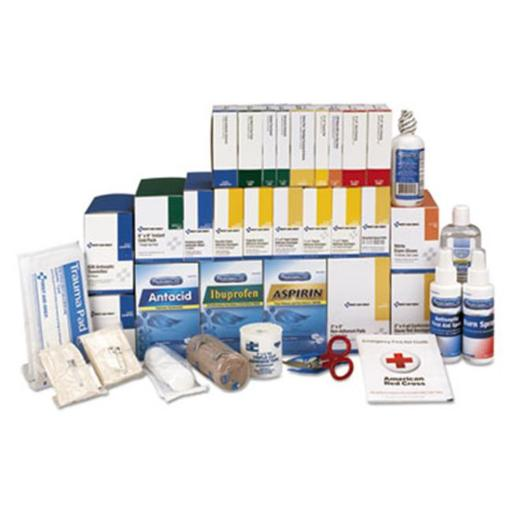 First Aid Only FAO90625 4 Shelf Class B Plus Kit Refill with Medications