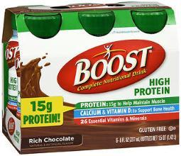 Boost High Protein Complete Nutritional Drink Rich Chocolate - 24 - 8 Oz