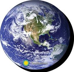 Earth Chunky Magnet Planet United States North America South