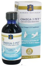 Nordic Naturals - Omega-3 Pet For Cats & Small Breed Dogs - 2 fl. oz.