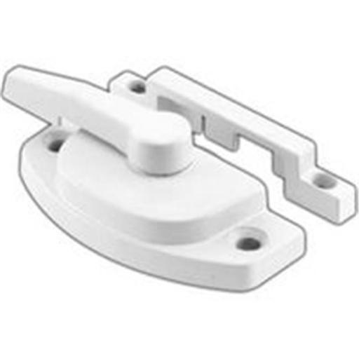 Prime Line Products White Vinyl Window Sash Lock F 2588