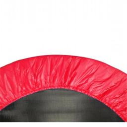 Upper Bounce UBPAD-36-R 36 in. Round Trampoline Safety Pad - Spring Cover for 6 Legs - Red
