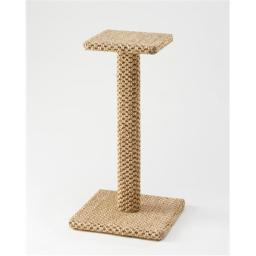 Sustainable Lifestyles 30-postperch-sunlight 30 in. Sisal Cat Scratching Post and Perch - Sunlight