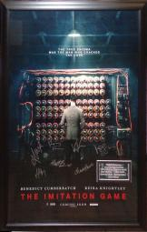The Imitation Game - Signed Movie Poster