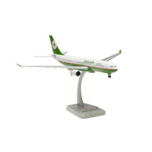 Hogan Wings HG0458G Eva A330-200 Aircraft 1-200 Old Livery with Gear Registration No B-16301 77BEF501BC23C985