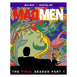 Mad men-final season part 1 (blu ray w/dig hd)(ws/eng/eng sub/5.1dts/2disc) BR46211