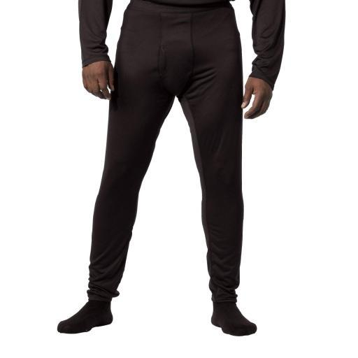 New Gen II Silk Weight ECWCS Mens Thermal Pants, Black