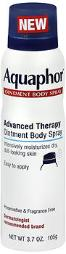 Aquaphor Advanced Therapy Ointment Body Spray - 3.7 Oz, Pack Of 2