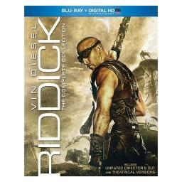 Riddick-complete collection (blu ray w/digital hd w/ultraviolet/ur/3discs) BR61130947