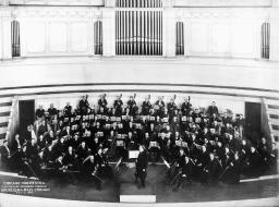 Chicago: Orchestra, 1907. /Nthe Chicago Symphony Orchestra. Photographed 5 February 1907. Poster Print by Granger Collection