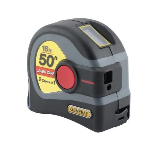 General Tools LTM1 Laser Tape Measure, Grey