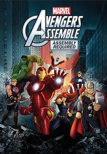 Marvels avengers assemble-assembly required (dvd) 4SJU7QV3TWWALIJO