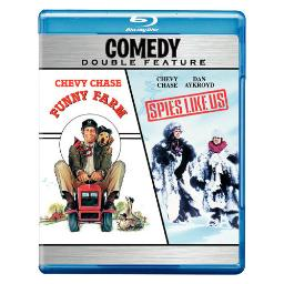 Funny farm/spies like us (blu-ray/dbfe/eng-sp-fr sub) BR150003