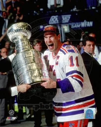 Mark Messier 1993-94 Stanley Cup Celebration Sports Photo KMUU4ITSWD73TWAM