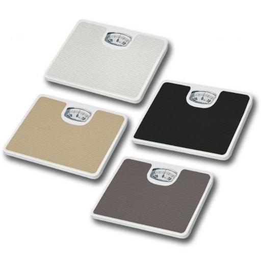 HDS TRADING CORP BS10282 BATHROOM SCALE NON SKID ASST. -ASST COLORS