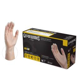 GlovePlus Vinyl Disposable Gloves M Clear 100 pk - Case Of: 1; Each Pack Qty: 100; Total Items Qty: 100